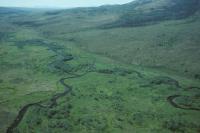 Unser Fluss von oben