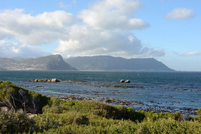 Bucht vor Kapstadt